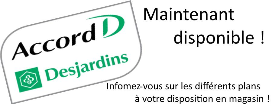 Financement Desjardins AccordD